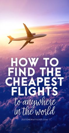 I'm taking between 40-50 flights every year and I was always wondering how to find cheap flights and tested several flight comparison sites. After experimenting with different websites I'm pretty sure that I have finally found the best flight search engine on the Internet... | via @Just1WayTicket