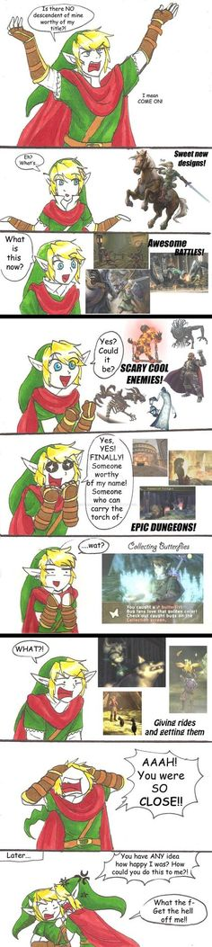 Past Hero Link is Disappoint: Part 5 by hopelessromantic721 on DeviantArt
