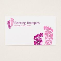 Shop Reflexology Business Card created by Personalize it with photos & text or purchase as is! Business Card Design, Business Cards, Esthetics Room, Wellness Industry, Business Supplies, Business Ideas, Illustrations And Posters, Cute Designs, Place Card Holders