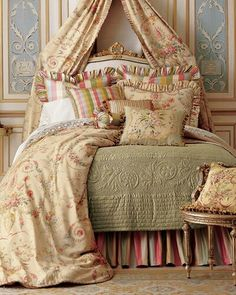 Beautiful bed linen....