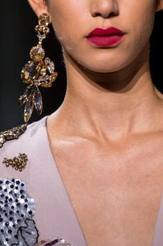 Elie Saab at Couture Fall 2016 - Details Runway Photos