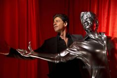 SRK immortalised in life size 3D print model