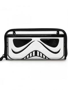 """""""Star Wars Stormtrooper"""" Patent Face Wallet by Loungefly (White) #InkedShop…"""