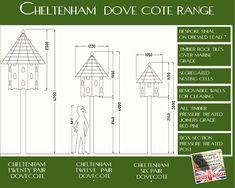 Cheltenham 12 Pair Dovecote - Dovecotech12 - Dovecotes - by