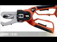 Black & Decker Alligator Lopper Cordless Chain Saw Best Chainsaw, Cordless Chainsaw, Outdoor Power Equipment, Gardening, Black, Black People, Lawn And Garden, Urban Homesteading, Horticulture