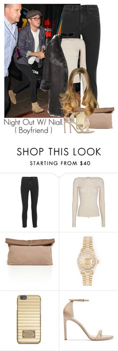 """""""Niall horan"""" by onedirection5secondsofsummer ❤ liked on Polyvore featuring Madewell, Helmut Lang, See by Chloé, Rolex, MICHAEL Michael Kors, Stuart Weitzman, Karl by Karl Donoghue, women's clothing, women and female"""