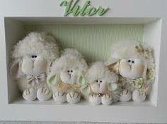 decoração bebe ovelha - Pesquisa Google