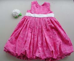 Isabelle's Bubble Dress Tutorial | PA Country Crafts