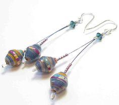 Acholi Bead Earrings