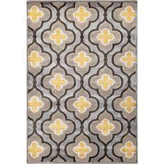 Wildon Home ® Dazzlynne Silver & Charcoal Area Rug & Reviews | Wayfair