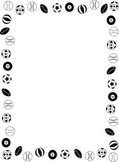 a496cc95fbed free sports balls scrapbook backgrounds - Google Search