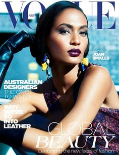 VOGUE AUSTRALIA  Model: Joan Smalls  May 2012 | Reference/Inspiration #Makeup #Pinterest