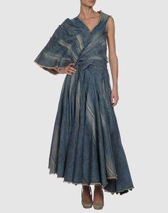 junya watanabe for cdg Love Jeans, Jeans Denim, Denim Top, Jeans Style, Denim Fashion, Cute Fashion, Boho Fashion, Fashion Design, Deconstruction Fashion