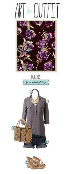 Art to Outfit: Weekend Getaway