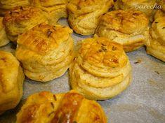 Oškvarkové pagáče - recept   Varecha.sk Biscuits, Muffin, Bread, Breakfast, Party, Food, Basket, Pasta Shells, New Years Eve