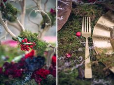 Check out this gorgeous, noir inspired shoot showcasing the dream wedding of Red Riding Hood & The Wolf...