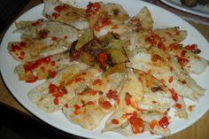 Merluza a la plancha con patatas y verduras