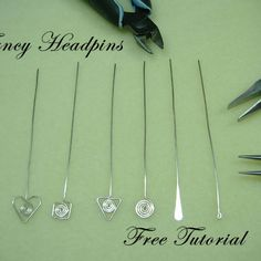 fancy headpins tutorial (free)