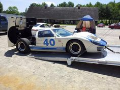 One of Holman Moody's Ford GT40's