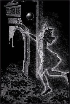 """liquidnight: """" Virgil Finlay [via Trixie's Treats] """""""