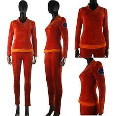 Star Trek Enterprise T'Pol costume uniform halloween costume fancy dress anime costume everyday use