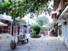 Buzios, Brazil - Outdoor Market and Nightlife area