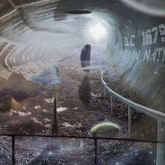 ArtStation - Burningraph * Underground Cities, City, Artwork, Work Of Art, Auguste Rodin Artwork, Cities, Artworks, Illustrators