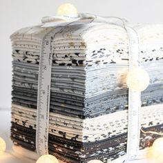 White Christmas fabrics by Zen Chic