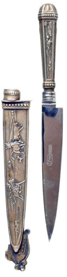 SOUTH AMERICAN. ARGENTINIAN GAUCHO KNIFE. DAGGER. #8368