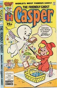 Casper... We had several of the Casper and Casper and Wendy comic books. Debby