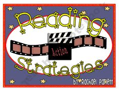 7 Reading Strategy Posters - Hollywood/Movie Theme product from The-Happy-Teacher on TeachersNotebook.com
