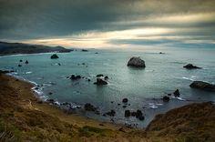 Title  A Dark Day At Sea   Artist  Bryant Coffey   Medium  Photograph - Photograph