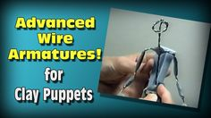 How to Make Wire Armatures for Stop Motion Puppets