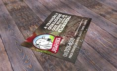 Panfleto divulgação Casa de Carnes Juatuba