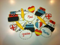 Travel Cookies inspired by Yankee Girl Yummies