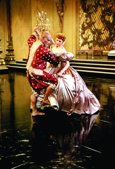 """""""Shall we dance? One two three and one two three."""" The King and I (1956) - favorite scene. Yul Brenner and Deborah Kerr. Shall We Dance, Felt Hearts, Make Me Happy, Irene, Cloud, In This Moment, Chicago, Clouds"""