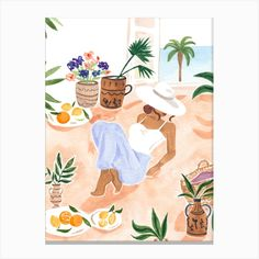Watercolor Fruit, Meditation Art, Window Art, Diy Canvas Art, Henri Matisse, Canvas Prints, Art Prints, Wall Art Designs, Home Wall Art