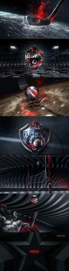 CSKA Ident Promo on Behance