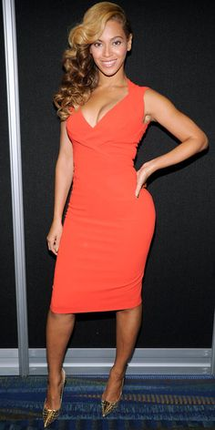 Beyonce in Antonio Berardi from #InStyle