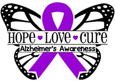 Alzheimer's Awareness - LadybugVinyls