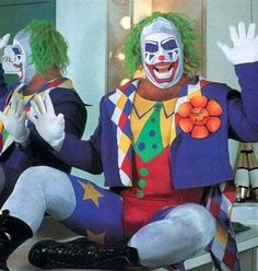 Look out here comes DOINK the evil clown