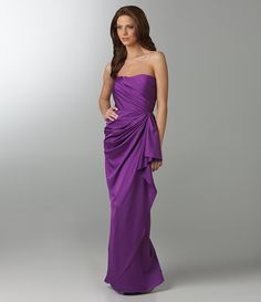 bridesmaid -nice shade of purple