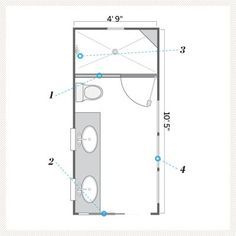 1000 ideas about small bathroom layout on pinterest Bathroom blueprints for 8x10 space