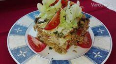 Zapekaný kel s mletým mäsom a ryžou (fotorecept)