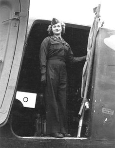 This reminds me of my mom, she was a WAF, although not a flight nurse, she was a radio operator with a desire to become a nurse :)  USAAF Flight Nurse, WWII.