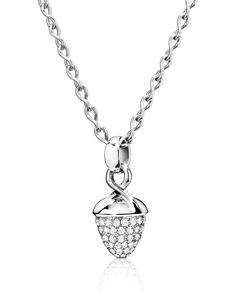 Mikado Bouquet 18K White Gold Pavé Diamond Pendant Enhancer - Tamara Comolli