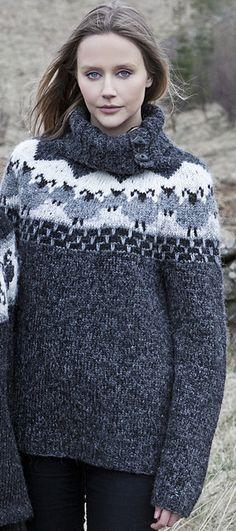 Ravelry: Von pattern by Ástþrúður Sif Sveinsdóttir Crochet Rug Patterns, Crochet Stitches, Knit Crochet, Knitting Patterns, Ravelry Crochet, Motif Fair Isle, Fair Isle Pattern, Fair Isle Knitting, Free Knitting