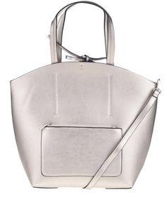 Geantă argintie Miss Selfridge cu aspect peliculizat Miss Selfridge, Leather Backpack, Backpacks, Handbags, Purses, Leather Book Bag, Leather Backpacks, Hand Bags, Women's Handbags