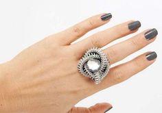 Cómo hacer un anillo con un cierre ~ Solountip.com