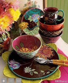 Increased appetite Dining tableware Painting tableware (1)